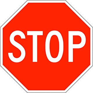 MUTCD R1-1 Stop Sign, Street Stop Sign, Road Stop Sign, 24