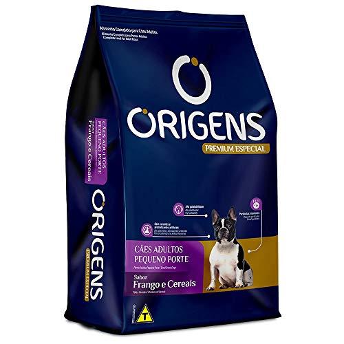 Ração Origens para Cães Adultos de Raças Pequenas sabor Frango e Cereais - 10,1kg