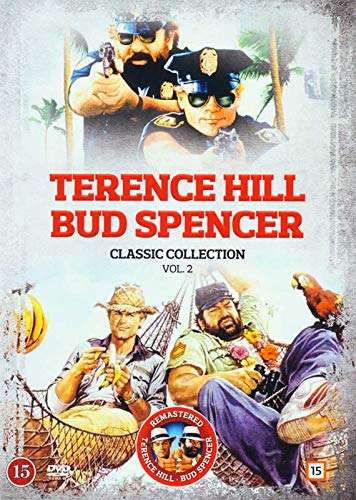 Terence Hill and Bud Spencer Classic Collection 2 - 5-DVD Set ( Miami Supercops / Odds and Evens / Super Snooper / Thieves and Robbers / Who Finds a Fri [ NON-USA FORMAT, PAL, Reg.0 Import - Denmark ]
