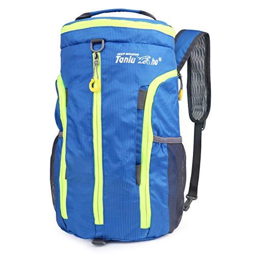 Idefair Mochila de viaje de senderismo plegable, mochila deportiva liviana y empacable...