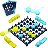 Bounce Off Game with Bouncing Pattern Challenges - Desktop Bounce Balls Tabletop Game Toys, Activate Ball Game Stress Relief Playthings for Children Family