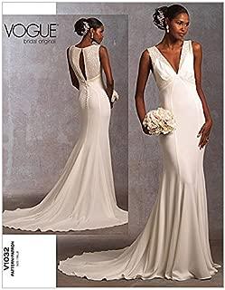 Vogue Ladies Sewing Pattern 1032 Elegant Wedding Dress