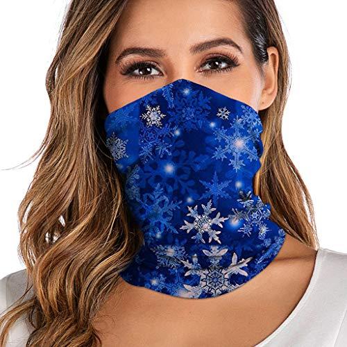 Zarupeng Multifunctionele gezichtsbandanas, uniseks, outdoor hoofdband, sjaal, winddicht, zonwerende folie, gezichtsbescherming, paardrijden, wandelen, hoofddoeken