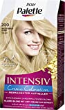 SCHWARZKOPF POLY PALETTE Intensiv Creme Coloration 200/10-0 Helles Naturblond, 3er Pack (3 x 128 ml)