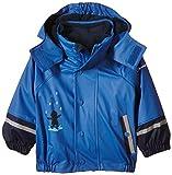 Sterntaler Baby-Jungen FLI AIR Blockringel Regenmantel, Blau (Kobaltblau 353), 74