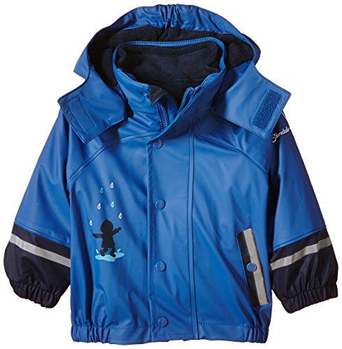 Sterntaler Baby-Jungen FLI AIR Blockringel Regenmantel, Blau (Kobaltblau 353), 98