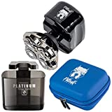 Buy a Skull Shaver Pitbull Gold Pro along with Platinum Rinse Stand and Pitbull Hard Travel Case