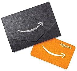 Amazon.de Geschenkkarte in Geschenkkuvert - 20 EUR (Schwarz)