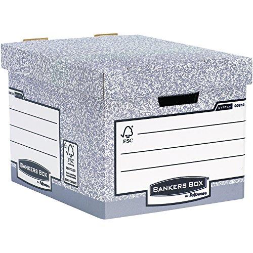 Bankers Box System Standard-Archivbox (Fastfold System) 10 Stück grau thumbnail