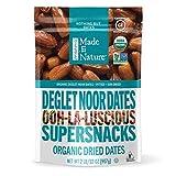 Made in Nature Organic Dried Fruit, Deglet Noor Dates, 32oz Bag – Non-GMO, Unsulfured Vegan Snack