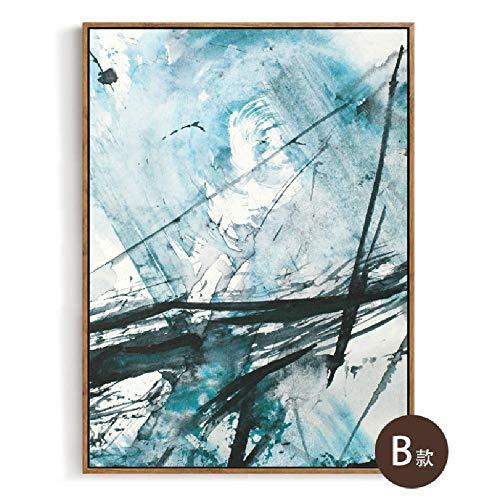 Preisvergleich Produktbild wuzhaodi Poster Dekorativer Anstrichkorridor des Kreativen Unbedeutenden Kunstzusammenfassungswohnzimmers,  Der 60Cm * 80Cm Malt