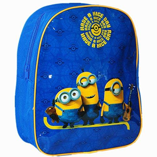 Universal oficial Minions Kids niños escuela viaje mochila mochila bolsa