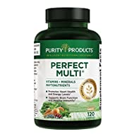 Perfect Multi - Multivitamin | Purity Products | Packed with Vitamins, Minerals & Phytonutrients | 60 Breakthrough Nutrients | 120 Capsules (1)