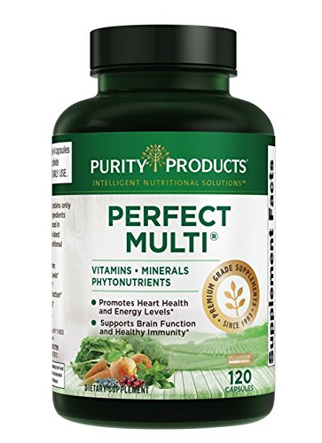 Perfect Multi - Multivitamin   Purity Products   Packed with Vitamins, Minerals & Phytonutrients   60 Breakthrough Nutrients   120 Capsules (1)
