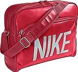 Nike bolsillo, bolso, muy ligero. Con acolchado Laptoptfach. Colour rojo., unisex, color Rojo - rojo, tamaño 42,5x33x12 cm
