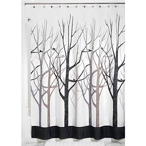 cortinas de baño antimoho negras