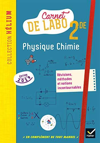 Physique chimie 2de - Éd. 2019 - Carnet de labo