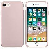 CABLEPELADO Funda Silicona iPhone 6/6s Textura Suave Color Rosa Claro