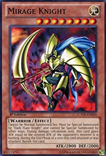Yu-Gi-Oh! - Mirage Knight (LCYW-EN024) - Legendary Collection 3: Yugi's World - 1st Edition - Common