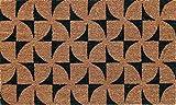 Coco & Coir - Felpudo (45 x 75 cm), Color marrón