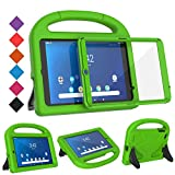 BMOUO Kids Case for Walmart Onn 8 inch Tablet, Onn 8 inch Tablet Case, Shockproof Light Weight Handle Stand Case for Walmart Onn 8 inch Android Tablet Model ONA19TB002 - Green