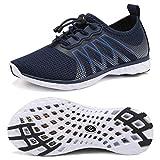 CIOR Kids Water Shoes Boys & Girls Quick Drying Sports Aqua Athletic Sneakers Lightweight Sport Shoes(Little Kid/Big Kid) U1ELJSX005-Navy-37