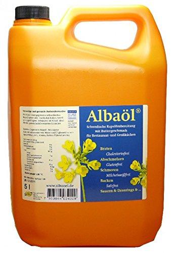 Alba Öl Rapsöl mit Buttergeschmack 5 Liter