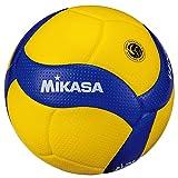 ミカサ(MIKASA) バレーボール 日本バレーボール協会検定球 軽量4号(小学生用)黄/青 V400W-L