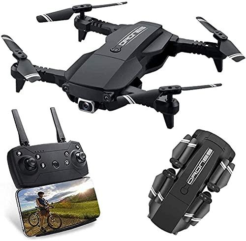 Mini Drone RC Pieghevole 2,4 GHz con OneButton 360deg;Flip e 80 Minuti Volo, con Mantenimento dell'altitudine e modalità Senza Testa Regalo Divertente per i Bambini for