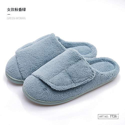 Zapatillas De Casa Para Mujer,Otoño E Invierno Par De