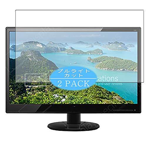 VacFun 2 Piezas Filtro Luz Azul Protector de Pantalla Compatible con HP 22kd T3U87AA 21.5' Display Monitor, Screen Protector...