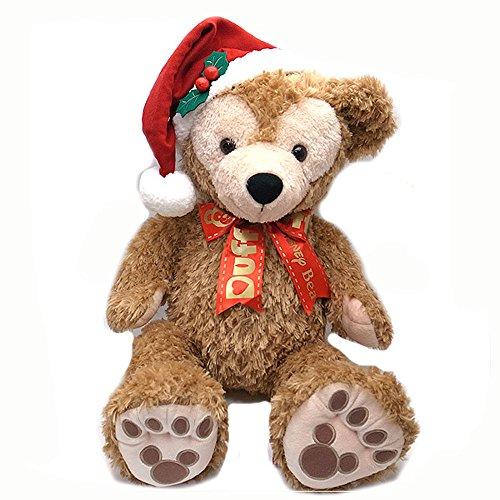 ダッフィー カラーオブクリスマス 2016 サンタの帽子のダッフィー ぬいぐるみ Mサイズ 夢見るクリスマス 東京ディズニーシー限定