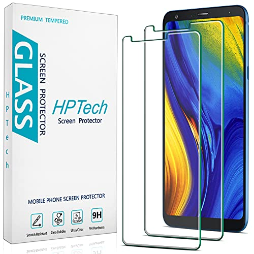 2-Pack HPTech Tempered Glass For LG Stylo 4, LG Stylus 4 Screen Protector, Easy to Install, Bubble Free, 9H Hardness