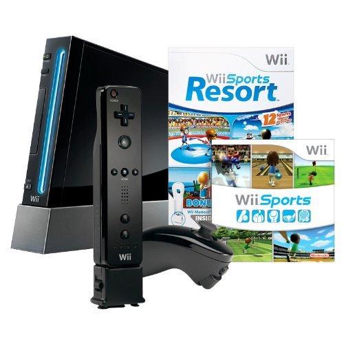 Nintendo Wii Console - Preto