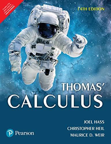 Thomas Calculus, 14Th Edition