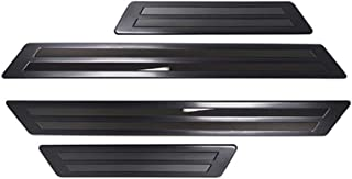 サムライプロデュース マツダ CX-5 KF系 スカッフプレート サイドステップ外側 車体保護ゴム付き フロント・リア 4P ブラック