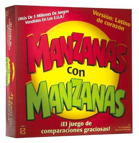 MANZANAS con MANZANAS - El Juego De Comparaciones Graciosas