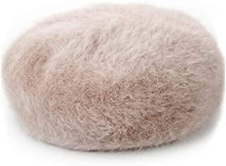 YIXINGSHANGMAO Hat, Women's Warm Knitted Beret, Three Colors Optional Warm (Color : Apricot)