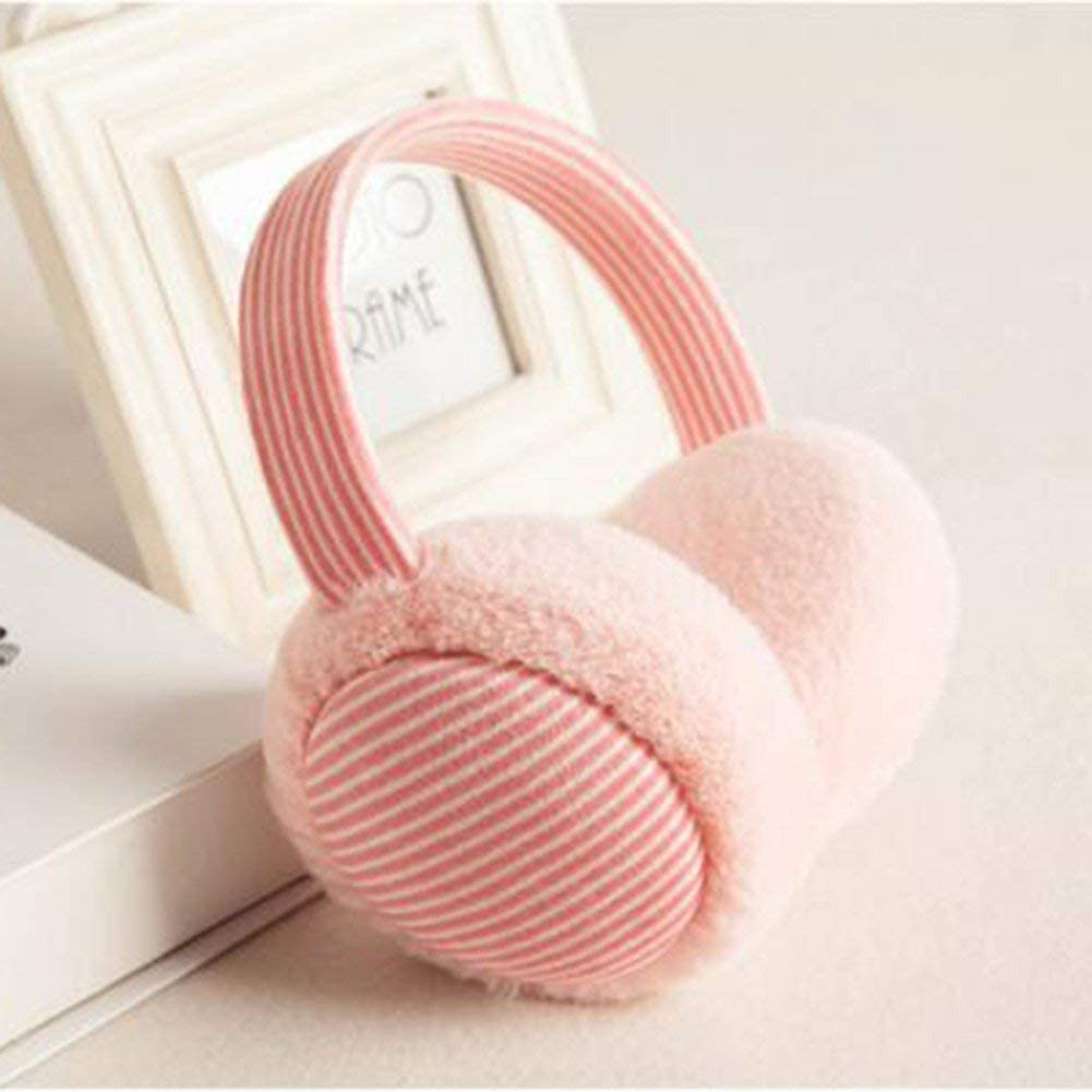 HIZLJJ Women Faux Fur Earmuffs Overseas parallel import regular item Tulsa Mall for Muffs Ear Fleece Winter