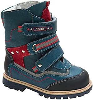 Orthopedic Boots Autumn Winter Outdoor Hight Top Insulated Shoes Three Fasteners Baby Toddler Kids Boys Girls