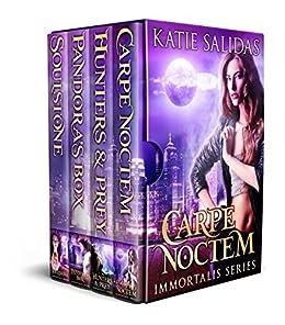 Immortalis Boxed Set: A New Adult Urban Fantasy Vampire Series (Immortalis Vampire Series) by [Katie Salidas]