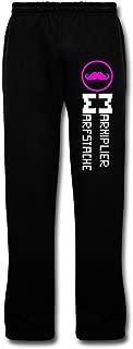 Men's Markiplier Warfstache Pants Black