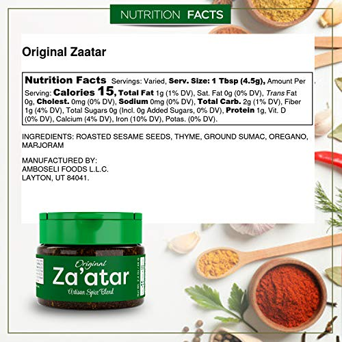 USimplySeason Zaatar Spice (Original Seasoning, 2.4 Ounce )