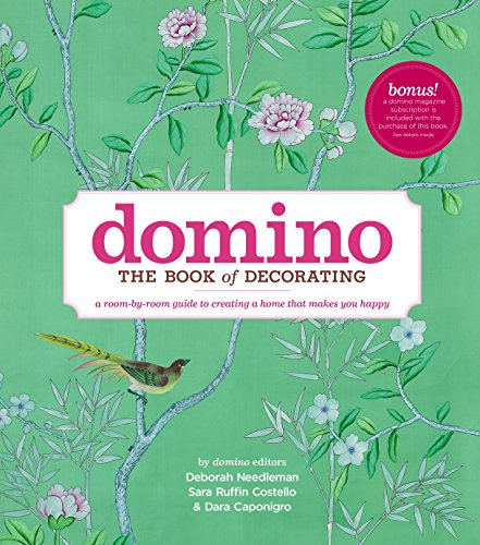 Compare Textbook Prices for Domino: The Book of Decorating: A Room-by-Room Guide to Creating a Home That Makes You Happy 1st Edition ISBN 9781416575467 by Deborah Needleman,Sara Ruffin Costello,Dara Caponigro