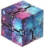 Infinity Cube,Kunststoff Zauberwürfel PVC Mini Finger Unendlicher Würfel Handlich Zappeln Spiel...