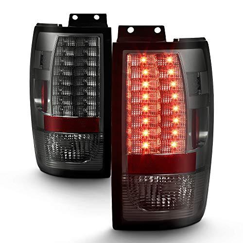 [For 1997-2002 Ford Expedition] VIPMOTOZ Premium LED Tail Light Lamp - Chrome...