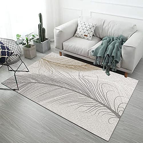 NF Big Area Floor Rug Modern Rectangle Area Rugs Living Room Bedroom Carpet Geometric Abstraction Non-Slip Antifouling Washable Large Rugs 140 * 200cm