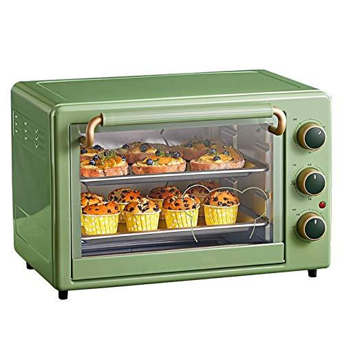 35L Mini horno Temperatura ajustable 70-230 ℃ y 120 minutos Tiempo Posición de hornear de cuatro capas Horneado doméstico
