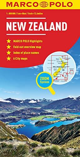 New Zealand Marco Polo Map [Idioma Inglés] (Marco Polo Maps)