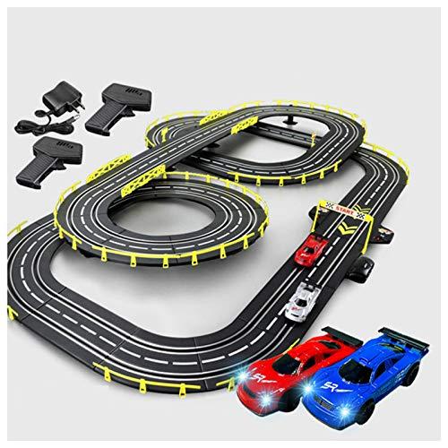 AAAHHH Road Track Racing Toy Niños Doble Pista Grande Niño De 8-10...